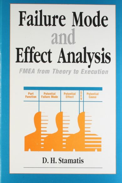 FAILURE MODE AND EFFECT ANALYSIS by D. H. Stamatis