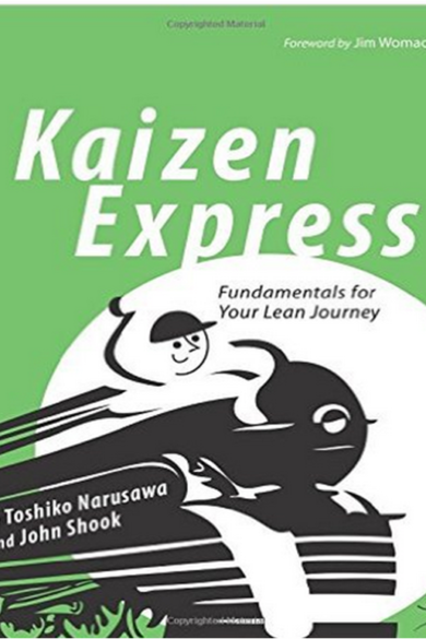 Kaizen express byToshiko Narusawa and Johan Shook