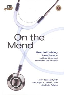 On the mend by EMILY ADAMS., JOHN TOUSSAINT MD, ROGER A. GERARD PHD